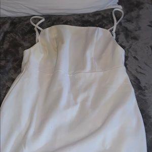 brand new body con white dress